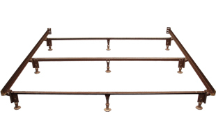 Metal Bed Frame with head & foot attachment