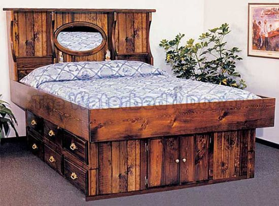 King Waterbed Frame