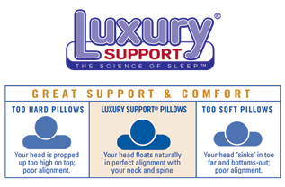 luxury support pillow